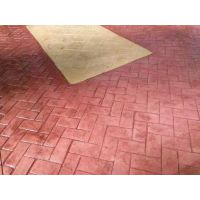 瑞石建筑承包宿迁市园林路面彩色混凝土压花地坪材料 特价RS2