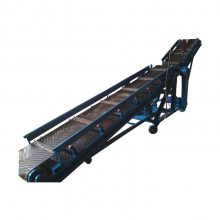 伸缩式皮带输送机 圆管式防滑带式运输机 移动便捷上料稳定