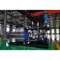 辽宁亿达BEM600-10-1200kw管壳换热器机组新疆供应