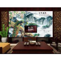 瓷砖背景墙 国画山水画背景墙 诚招开封经销商加盟