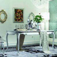 欧式餐桌 实木餐桌 新古典餐桌 样板房家具 餐厅家具
