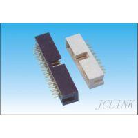 供应LED专用2.54mm 直插简牛 黑白