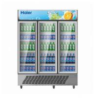 Haier/海尔SC-1050G三门立式商用冷藏柜 超市三门饮料展示柜