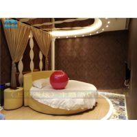 [情趣家具] 精品酒店情趣床-情侣水床-电动圆床-水床价格-漫炫厂家订做