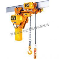 威龙起重 HHBB01-01 超低 1t电动葫芦 宝雕牌 现货批发厂家