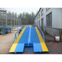 信阳市 北京市启运液压机械厂家 移动式登车桥 集装箱升降机 货物装卸平台
