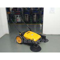 即墨工厂打扫卫生用艾隆AL920手推式扫地机/无动力扫地机