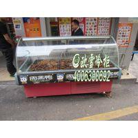 供应广州花都鸭脖子熟食展示柜