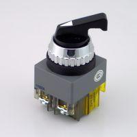 凯昆选择开关启动开关按钮旋转二段B25-41L B30-41L长手柄25 30mm