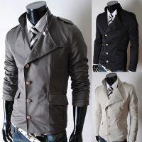 2015新款批发代购ebay速卖通外贸男士时尚立领修身休闲夹克 J02
