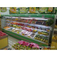 超越款半高柜-立式风幕展示柜-曲面冷藏柜-水果保鲜柜-佳利冷柜