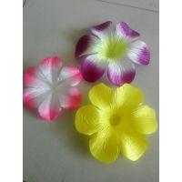 绢花厂 清明花、绢花花片,花圈材料绢花批发 绢花厂家