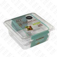 【玖儿包装】厂家直销烘焙包装 一次性透明西点盒 泡芙盒吸塑包装盒 千层蛋糕盒小点心饼干盒批发