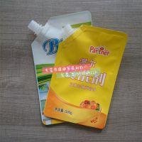东莞厂家生产吸嘴袋 洗衣液包装袋洗衣液袋定做 自立吸嘴袋洗衣液袋子