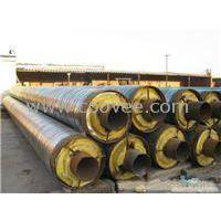 钢套钢保温管盛邦每天生产的管道能建造一个市