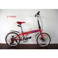 供应高档变速碟刹Z-VTA005折叠车 广州自行车公司