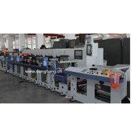 东航DH650双伺服柔印机 机组式卷筒纸轮转 快速换版 节约纸张