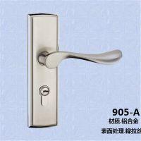 永嘉【索奇】卫生间门锁185*50铝合金单舌系列 机械门锁 防火门锁