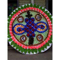 2米花圈A-11 雄县米家务镇正乾花圈厂,批发各尺寸布花圈,可来样订做。