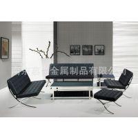 热销供应 优质简约式组合沙发 低价办公组合沙发慕尚