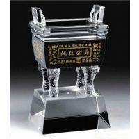水晶奖杯价格 会议奖杯定做 西安水晶奖杯