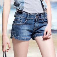2015 夏装新款个性牛仔短裤女夏季韩版显瘦大码宽松女装短裤
