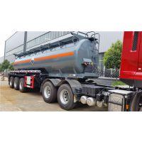 赣州30吨槽罐车价格危化品半挂运输车厂家报价多少钱