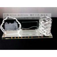 水晶工艺品定做,上海银行开业庆典水晶礼品批发,水晶纪念品定制