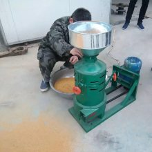 丰镇谷子水稻脱皮机 厂家直销水稻谷子去皮碾米机 緑豆去皮机富兴