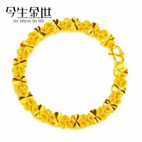 热销爆款 经典时尚蝴蝶形女士手链 采用黄铜电镀真金保色