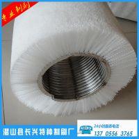 专业销售圆形钢丝刷 除锈弹簧刷 条刷钢丝弹簧刷