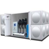 湖北箱式无负压变频供水设备