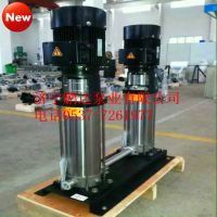 河北南方泵业同款鹏达QDL/CDL32-40立式不锈钢增压水泵价格