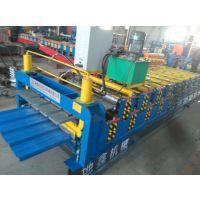 地鑫厂家压瓦机械厂双层彩钢压瓦机设备