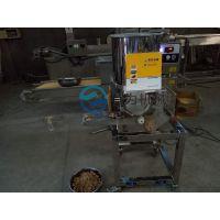 鸡肉饼成型机 稀浆上浆机 上面包糠机 油炸定型机 整套设备发货 终生维修