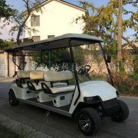 游乐场度假村6座电动观光车接送参观车售价,批发