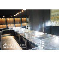 珠宝展柜柜台玻璃柜台设计制作厂家-南京珠宝展示柜制作