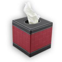 工厂供应酒店用品客房皮具纸巾盒时尚居家车用高档皮革纸巾抽卷纸