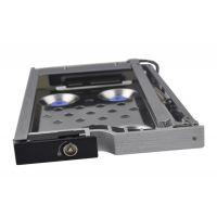 2.5寸铝合金防震内置移动硬盘托架LED指示灯设计支持混批ST8214S