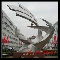 不锈钢城市雕塑 园林景观建筑大型创意雕塑 奋斗进取企业广场雕塑