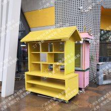 温泉度假村实木售货亭,木制饮料亭,餐饮售卖亭