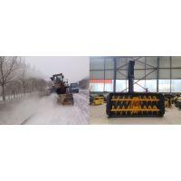 30、50装载机加装抛雪机