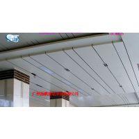 富腾天花吊顶工程装饰铝条扣方板冲孔铝扣板-铝单板防火常规板乐斯尔