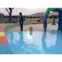 威尔地坪公司VSF水上乐园 游泳池防水防滑耐磨地坪涂料