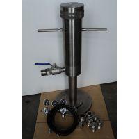 全不锈钢高压堵漏仪QD-2堵漏仪(钻井液泥浆) 青岛森欣