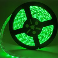 深圳5050绿光灯带滴胶防水LED高亮灯带