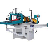 木材锯片开榫机 木工五锯片开榫机,五锯片木材单头直榫开榫机