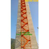 安全爬梯厂家哪家好 中盛专业制作桥梁施工安全爬梯 全系标准配置