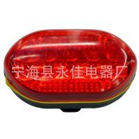 YJ-5LED红自行车尾灯,5LED红塑料自行车灯,特价5LED后车灯