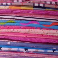 新款纯棉残布斜纹活性布料 床品面料 家纺床上用品四件套